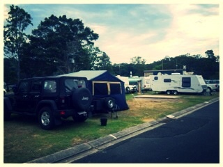 Caravans, campers and tents welcome