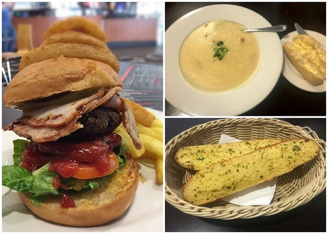 calwell club bistro, canberra, ACT, dinner, burgers, soup, lunch, dinner, family friendly,