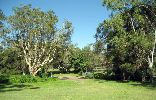 Brisbane has lots of little parks that few people visit that are great for burpees, sprint training and other outdoor exercise