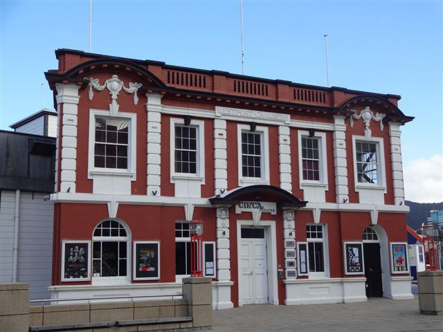 Circa Theatre, Wellington waterfront