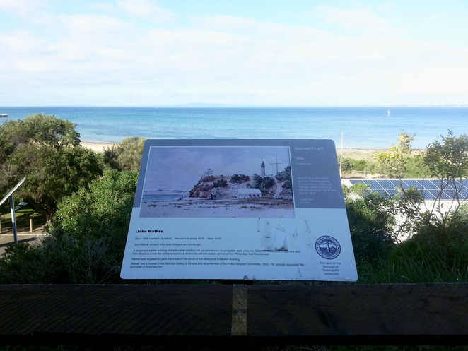 citizen's Park, Queenscliffe, Queenscliffe foreshore Reserve, Playground, Picnic spot, BBQ, public bbq, barbecue, electric barbecues, recreation, park, foreshore, bellarine, view, signage,