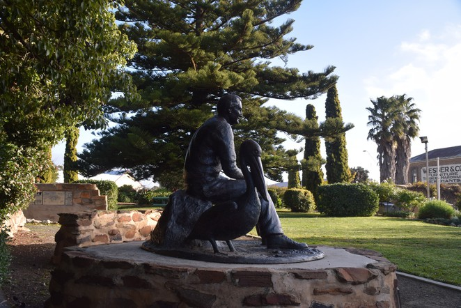 Colin Thiele Drive, Eudunda, Eudunda Heritage Gallery, Julia School, Hampden Railway Station, Sun and the Stubble, Storm Boy, Blue Fin, Eudunda Centenary Gardens, Lavender Federation Trail