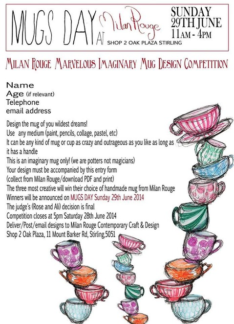 competition, mugs, pottery, art, design