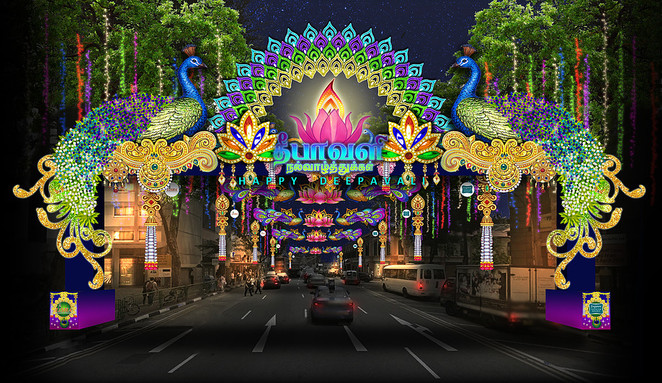 Deepavali, diwali, Deepavali Singapore 2016, Little India Singapore, LISHA, Istana Open House 2016, Little India light up