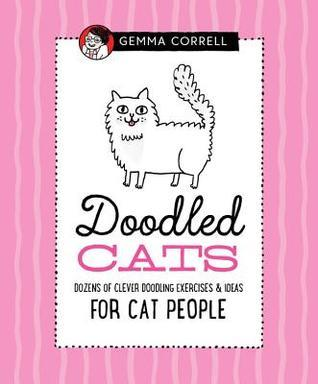 doodled cats, Gemma Correll, drawing exercises, how to draw cats, how to draw, drawing animals, books about cats