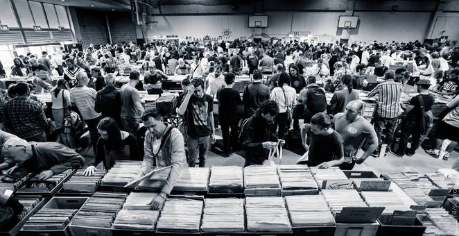 Glebe Record Fair music vinyl collecting vintage market