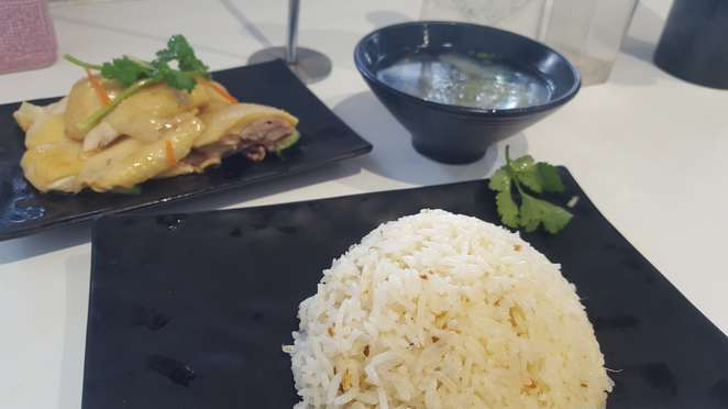 hainan chicken glen waverley