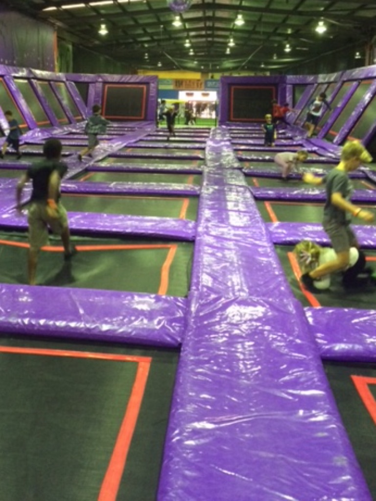 After A Brief Stint Pegging Each Other With Very Soft Balls In The Dodge Ball Trampoline Area We Headed Over And Spent Most Of Our Time Foam Pit