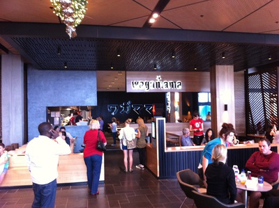 Inside the Wagamama Carindale store