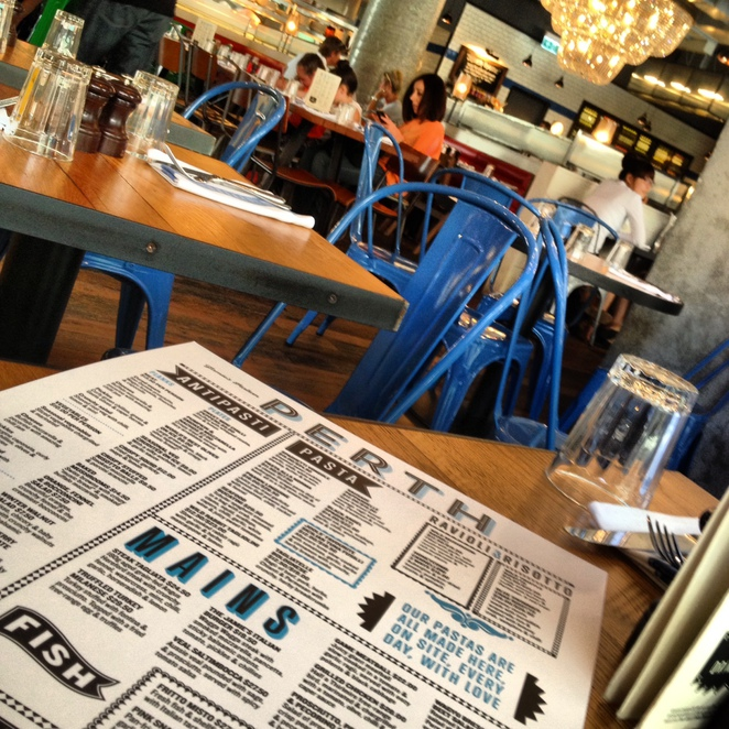 jamie oliver, restaurants, perth, eating out