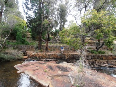The riverside picnic spots are especially popular at the John Forrest National Park.