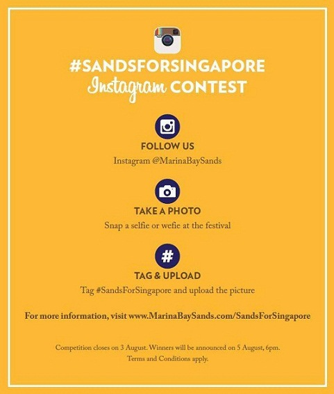marina bay sands instagram competition