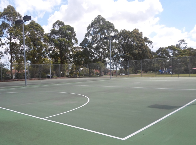 montview oval, netball, hornsby heights