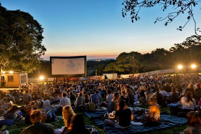 Moonlight Cinema, Outdoor Cinema, Outdoor Movies, Things to do in summer, Botanic Park