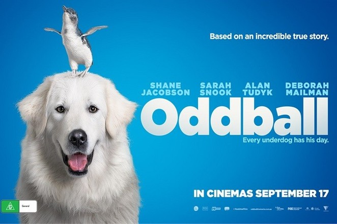 oddball, movies about dogs, movies for dog lovers, Australian movies, kids movies