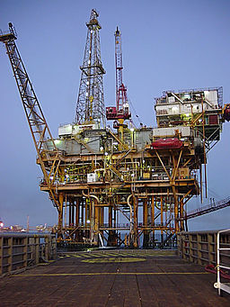 oil rig, petroleum