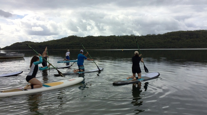Pacific Palms SUP Stand Up Paddle Smiths Lake