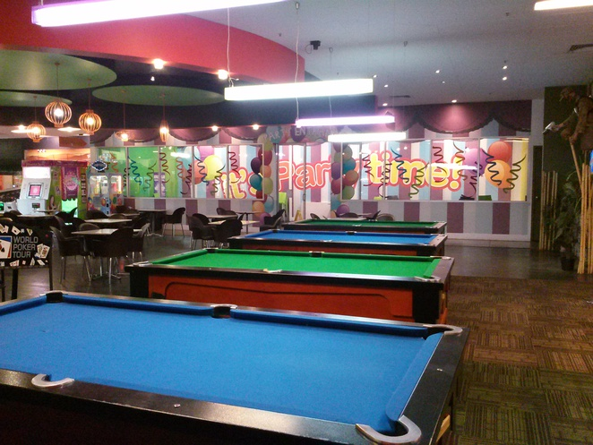 parties at iPlay, Belconnen, ACT
