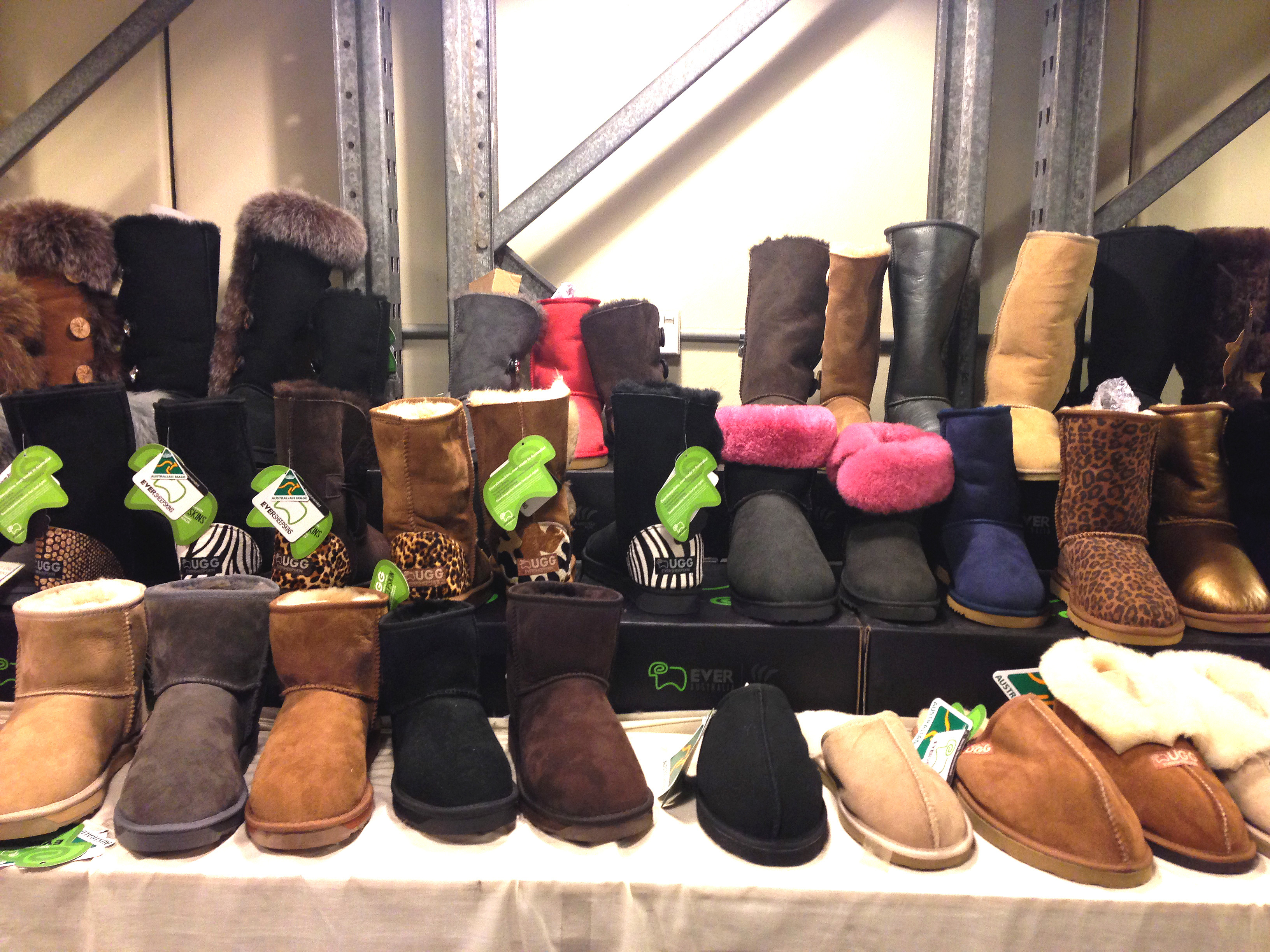 The UGG Boots Factory Outlet is located at 44 Carlingford St, Regents Park, NSW 2143 and is open from 9:30am to 5:30pm Monday to Saturday.