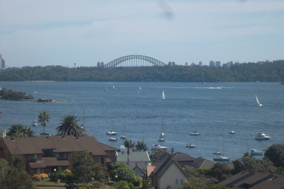 View of Sydney Harbour Bridge and Harbour