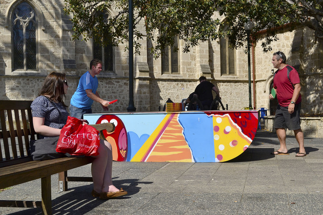 table tennis ping pong fremantle western australia kings square free fun activity facilities