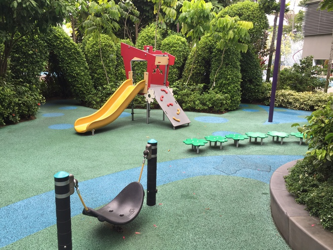 playground, toddlers, Gardens by the Bay