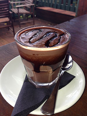 Polish Hot Chocolate, Polish food, polish cafe, polish food brisbane,