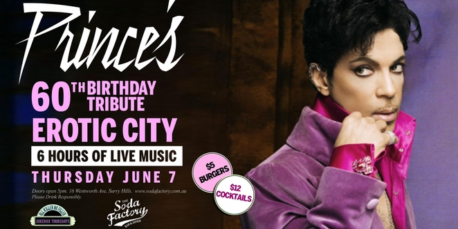 Prince, Music, Music Venues, Entertainment, Surry Hills, Food & Drinks