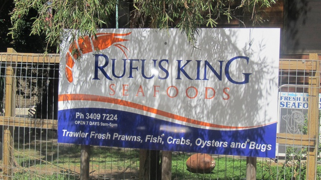 Rufus King Seafoods, Ashgrove, Amity Point, mobile seafood van, delivery service, dish, prawns, crab, mussels, oysters, scallops, trawler fresh