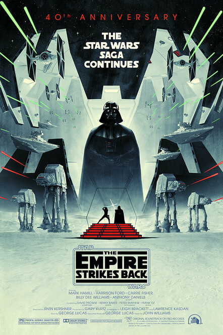 Star Wars The Empire Strikes Back celebrating its 40th anniversary