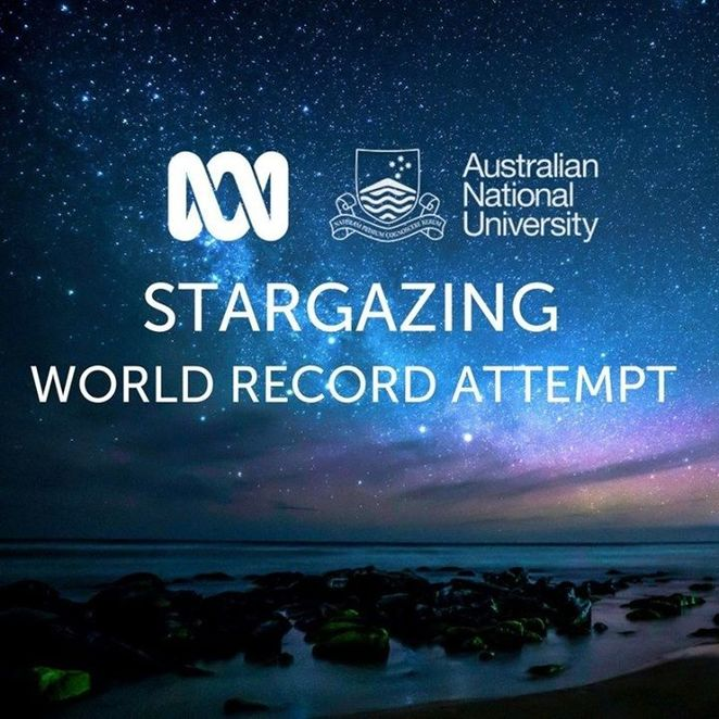 stargazing live, abc stargazing, stargazing live guinnesss world record attempt, star party, brian cox stargazing live, astronomy