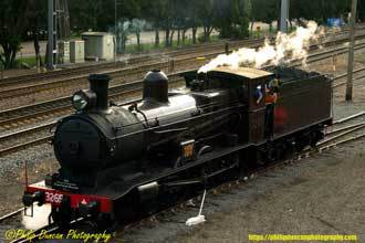 Steam Train, Steam loco, 3265.