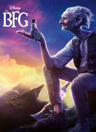 The BFG official movie poster