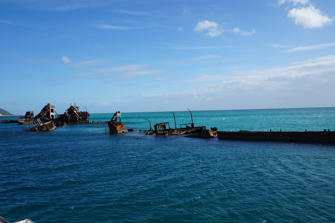 The Tangalooma Wrecks