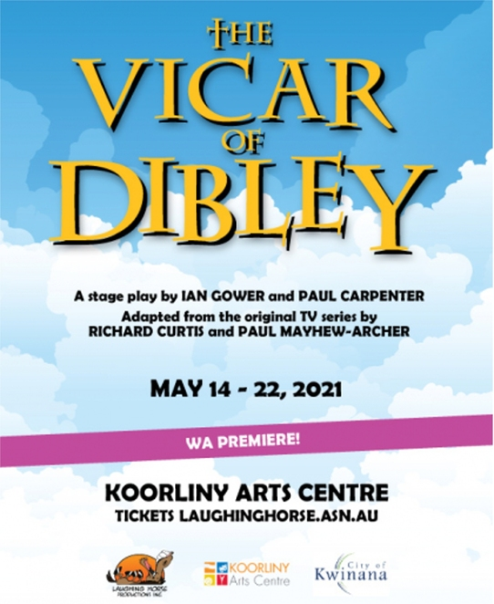 The Vicar of Dibley, Koorliny Arts Centre, Laughing Horse Productions, theatre, performing arts, Dawn French, Richard Curtis, stage, premiere