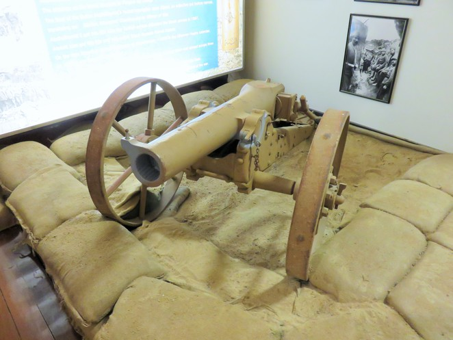 Townsville, army, cannon, 1898, Turkish, museum, WWI, Gallipoli
