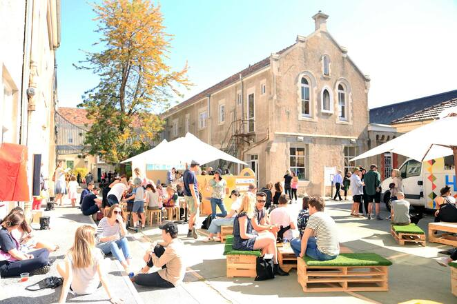 vegan market of melbourne 2019, community event, fun things to do, abbotsford convent, byron events melbourne, shopping, market stalls, food, fashion, art, craft, education, live entertainment, free workshops, childrens activities, monthly vegan market, at the convent, free market event