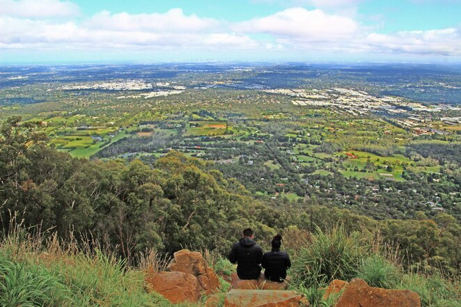 View from Burkes Lookout