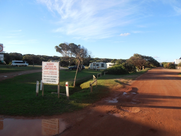Windy Harbour camping ground