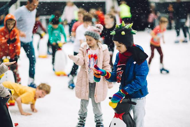 winter festival, canberra, 2016, events, july, ice skating,