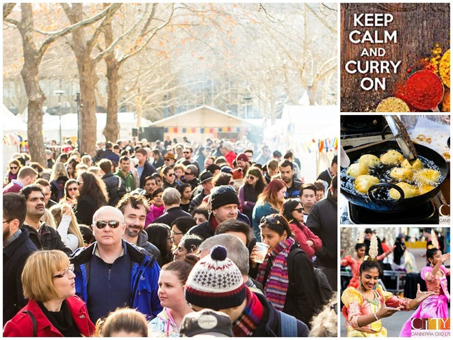 world curry festival, canberra, ACT, CBD, civic, festivals, foodie events, 2017