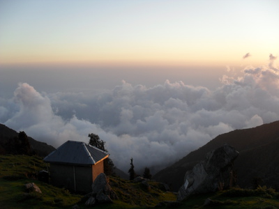 Above the Clouds, Triund, Mcleod Ganj, Dharamsala, Trek