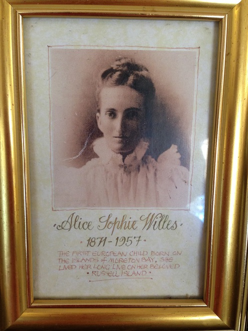 Alice Sophie Willes, Russell Island, Moreton Bay, Aunty Alice's Cafe