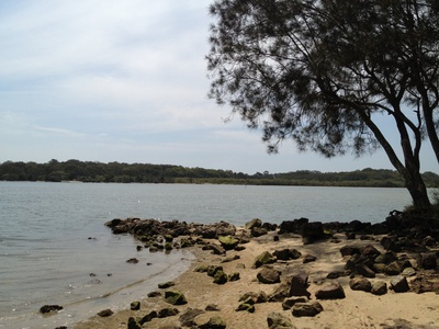 Another beautiful view over the Maroochy River from Chambers Island