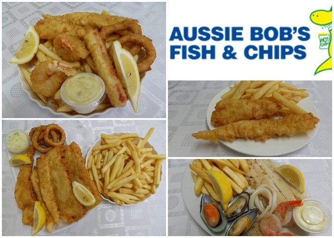 aussie bobs, fish and chips, nelson bay, shoal bay, port stephens, NSW, best fish and chips, takeaway, lunch, dinner, family, shoal bay restaurants,