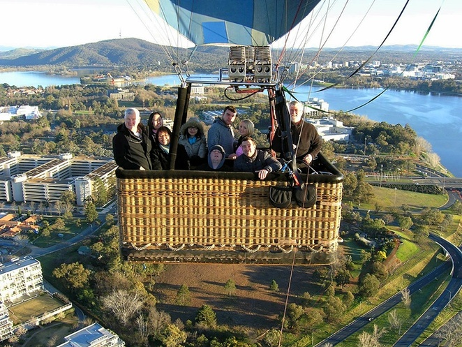 balloon aloft, canberra, ACT, best views, lookouts, views, skies, hot air balloons, canberra,