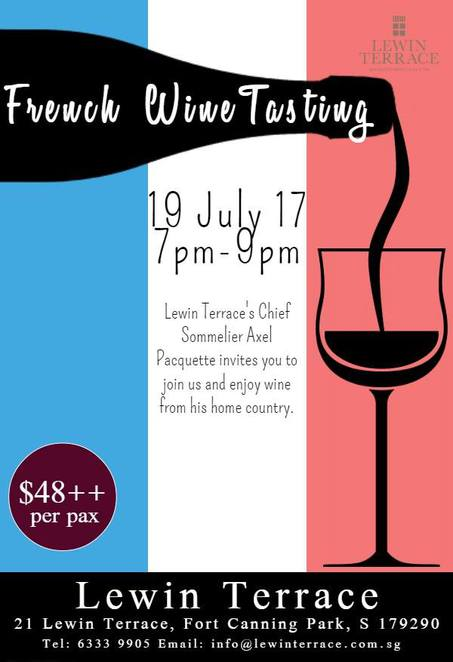 Bastille Day 2017, Bastille Day Singapore, Lewin Terrace, French wine