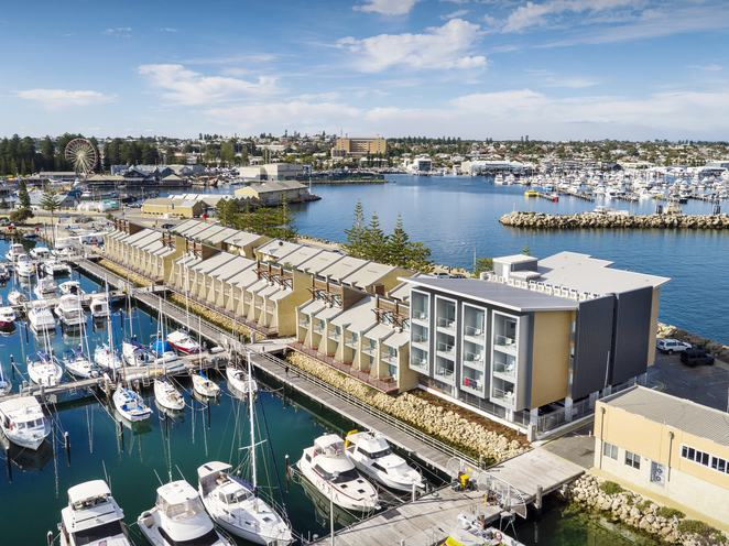 Be. Fremantle, accommodation, serviced apartments, Fishing Boat Harbour, Freo, port city, ocean views, tourism, tourist location, travellers