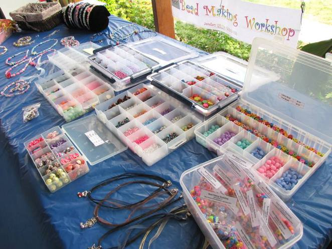 Bead Making Workshop Townsville, Townsville Beads, Townsville Markets, North Queensland Babies & Kids Market