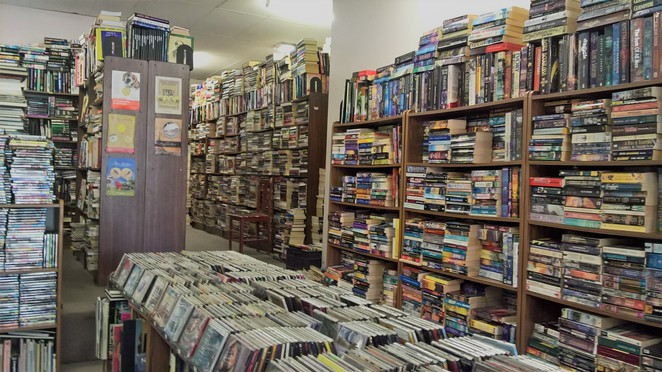 Books, books and more books, as far as the eye can see